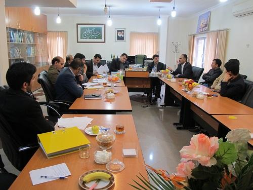 نشست مشترک مدیرعامل آب منطقه ای کهگیلویه و بویراحمد با شهردار یاسوج